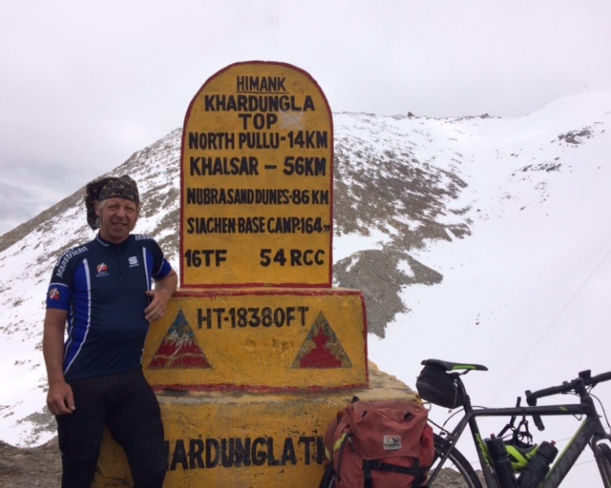 Khardung La Pass Bike Climb - PJAMM Cycling