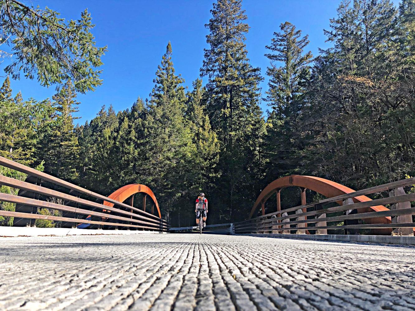 Hauser Bridge Bike Climb - PJAMM Cycling