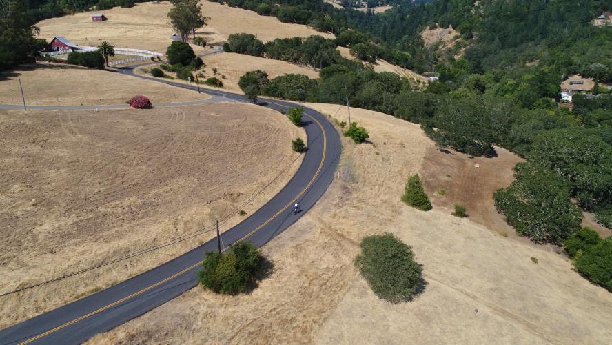 Los Alamos Road  Bike Climb - PJAMM Cycling