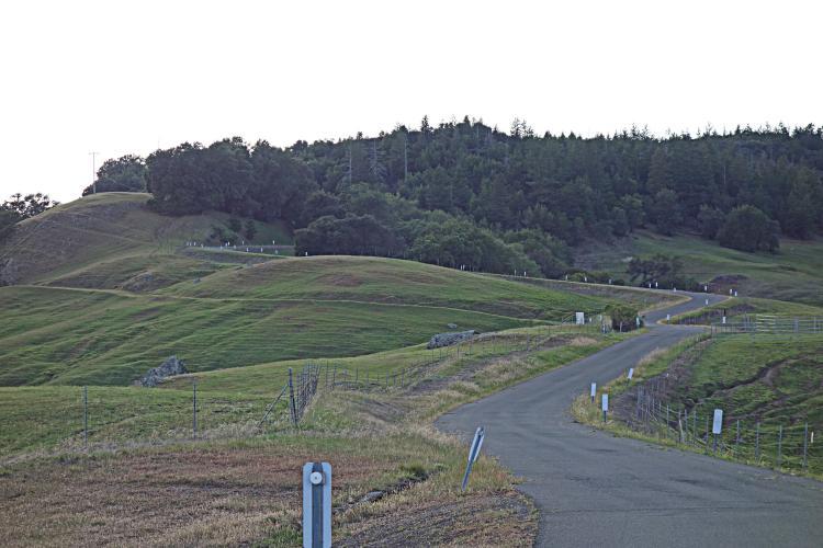 Los Alamos Road - back side Bike Climb - PJAMM Cycling