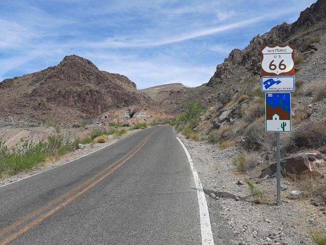 Sitgreaves Pass West Bike Climb - PJAMM Cycling