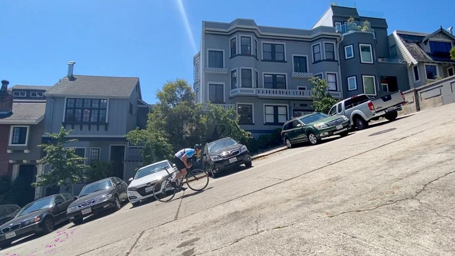 Broadway Street East Bike Climb - PJAMM Cycling
