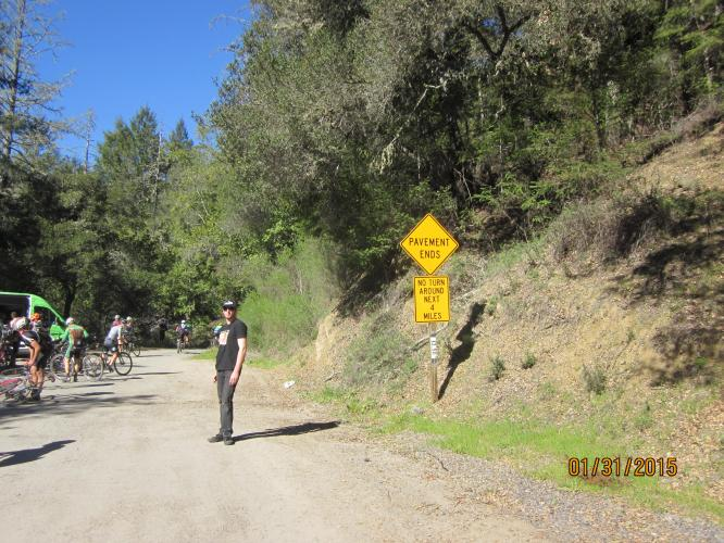 Old Cazadero Road (Old Caz) Bike Climb - PJAMM Cycling