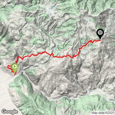 Climbing Pine Mountain Road, CA by bike - cycling data and ...