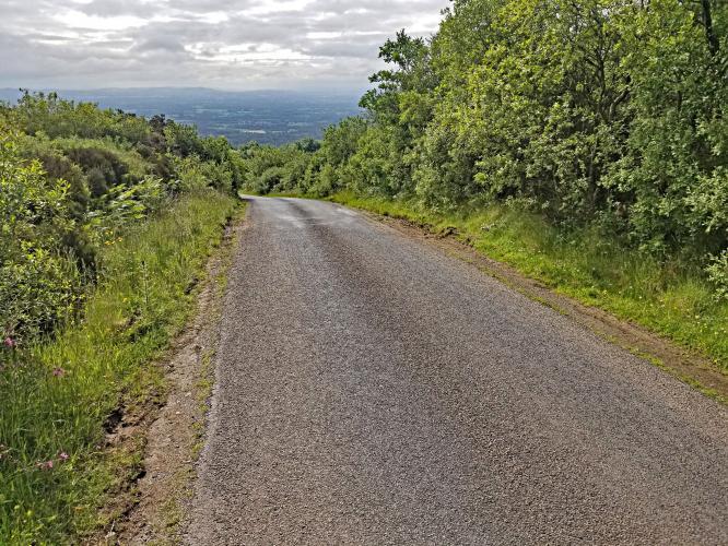 Ridge of Cappard Bike Climb - PJAMM Cycling