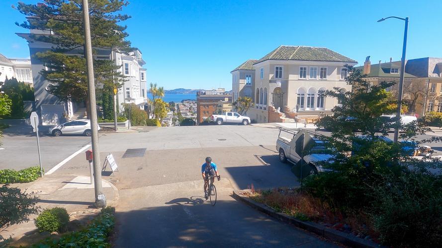 Lower Baker St. Bike Climb - PJAMM Cycling