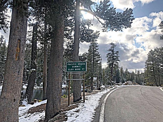 Pacific Grade Summit West Bike Climb - PJAMM Cycling