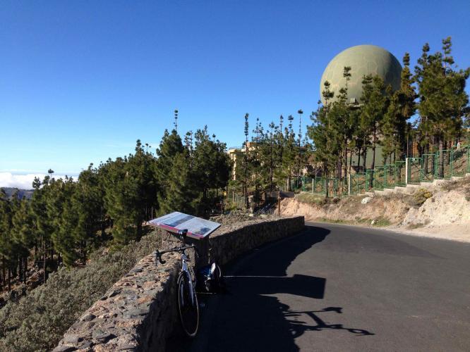 Pico de Las Nieves, Telde Bike Climb - PJAMM Cycling