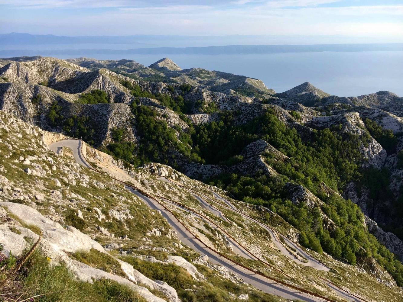 Sveti Jure - Podgora - PJAMM Cycling