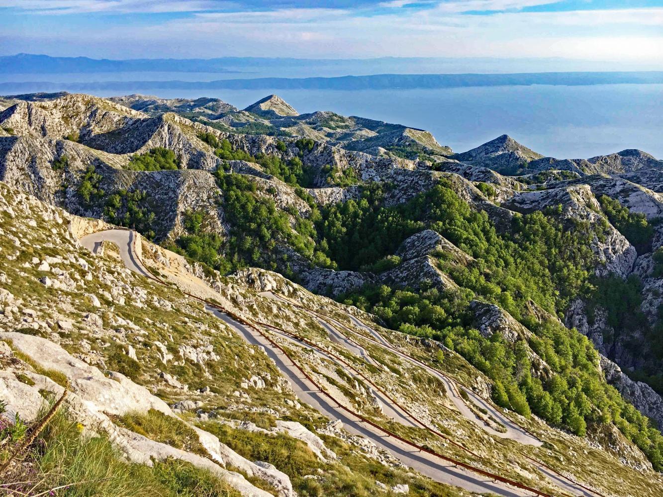 Sveti Jure - Podgora Bike Climb - PJAMM Cycling