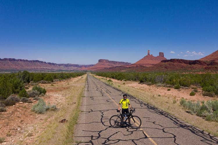 La Sal Loop (Castle Valley) Bike Climb - PJAMM Cycling