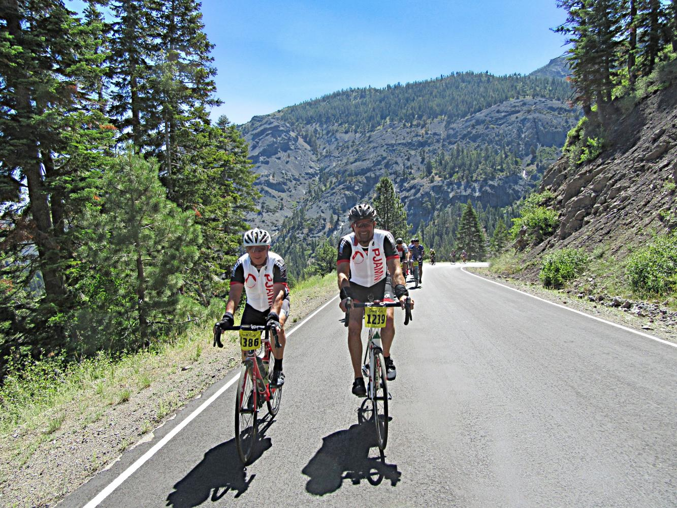 Ebbetts Pass East Bike Climb - PJAMM Cycling