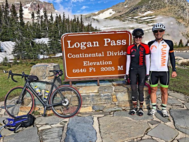 Logan Pass East Bike Climb - PJAMM Cycling