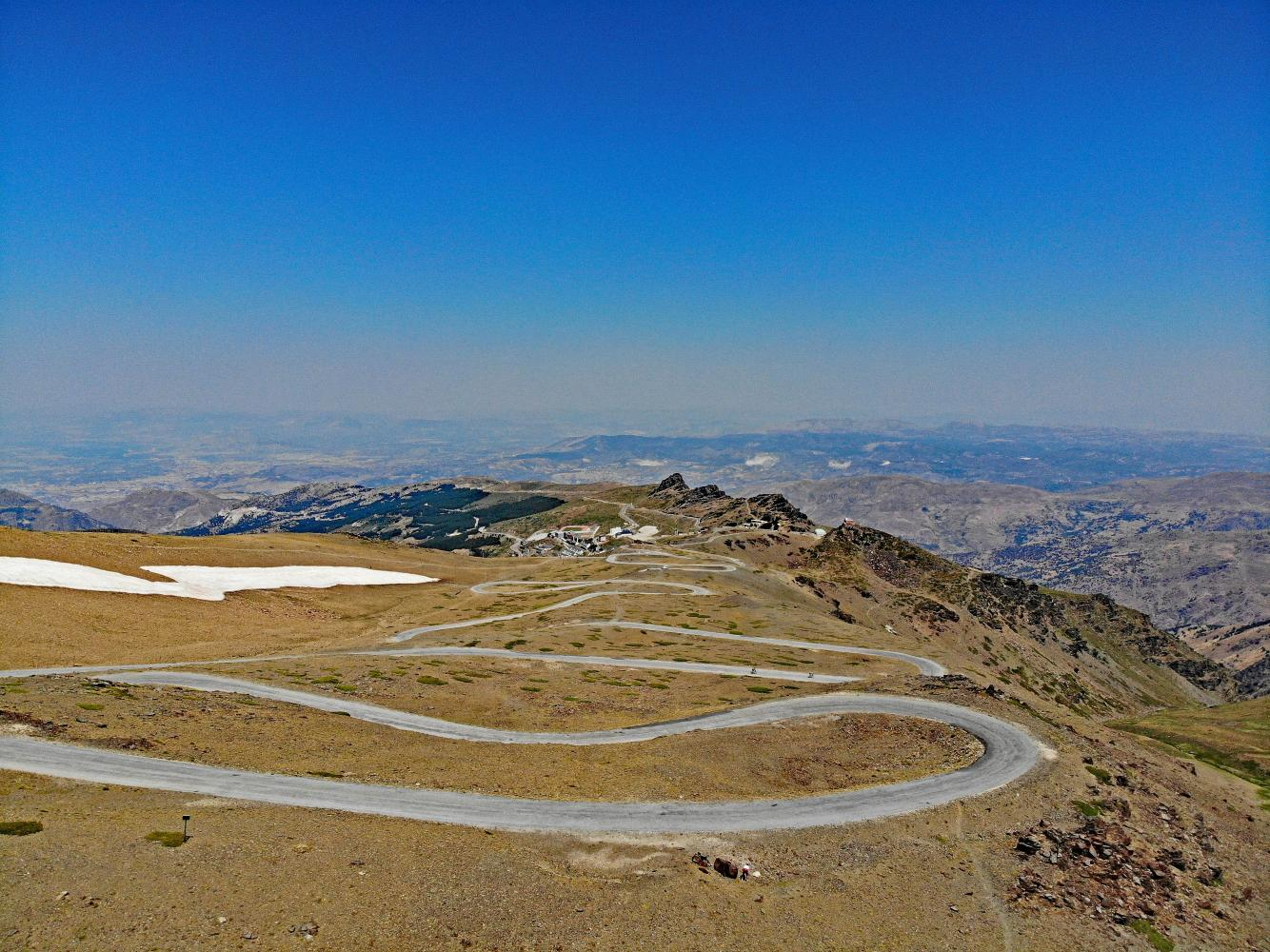 Cycling Climb - Pico de Veleta - Spain, Andalucía