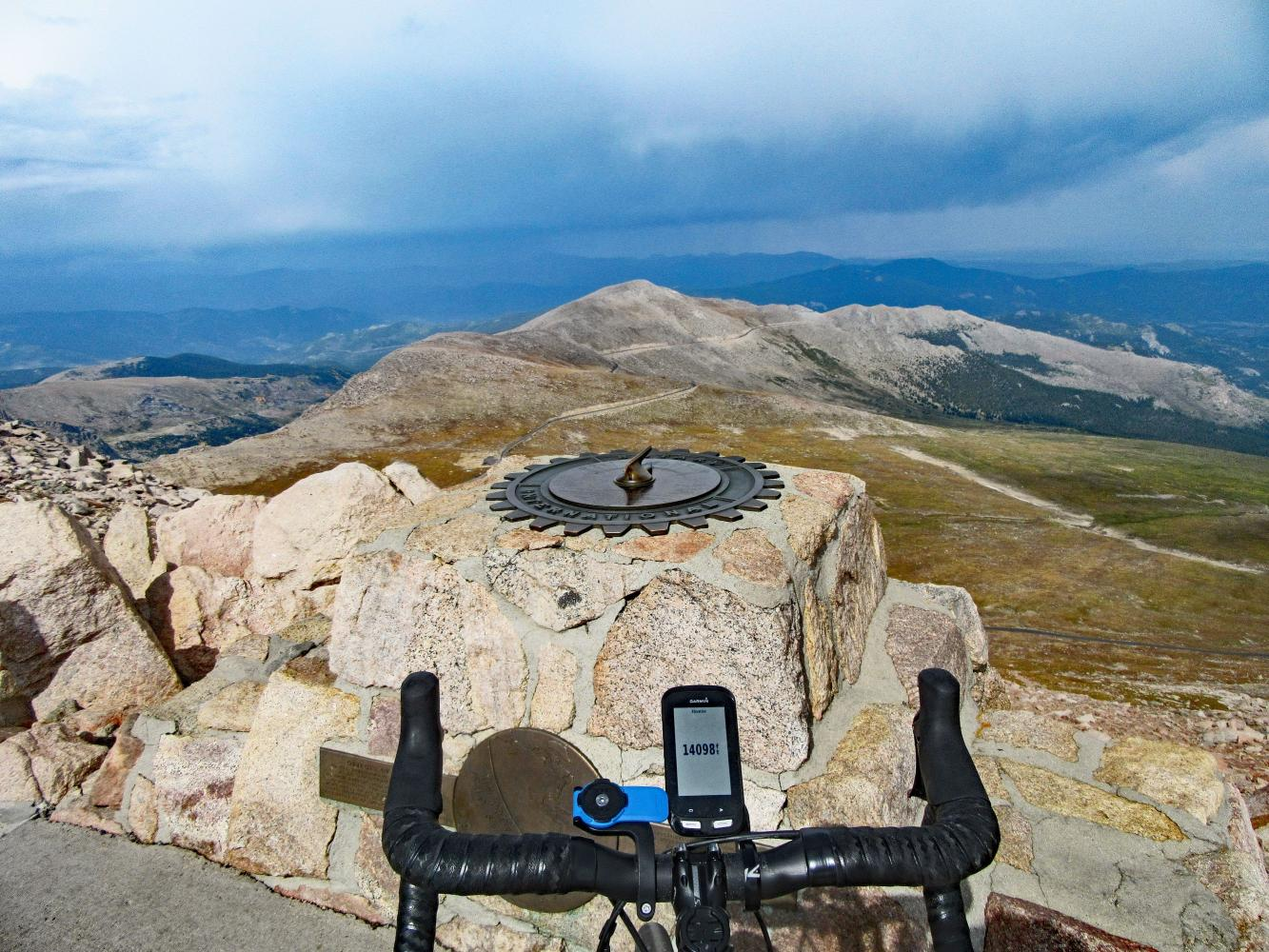 Mount Evans Bike Climb - PJAMM Cycling