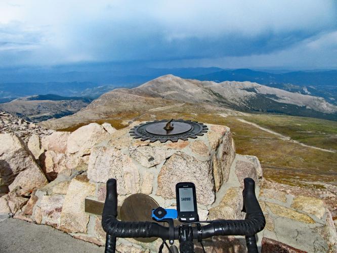 Mount Evans Bike Climb - PJAMM Cycling