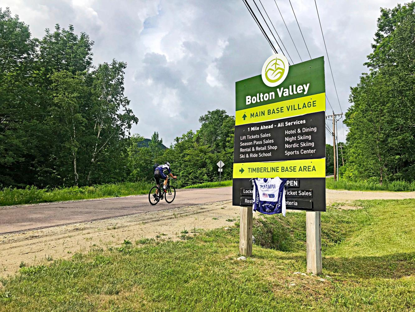 Bolton Valley Road Bike Climb - PJAMM Cycling