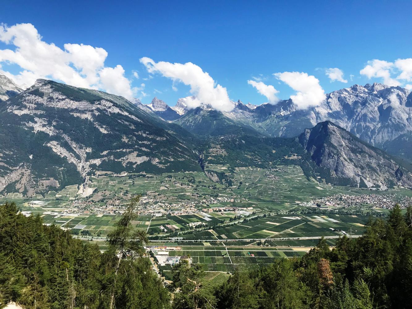 Croix de Coeur - Riddes Bike Climb - PJAMM Cycling