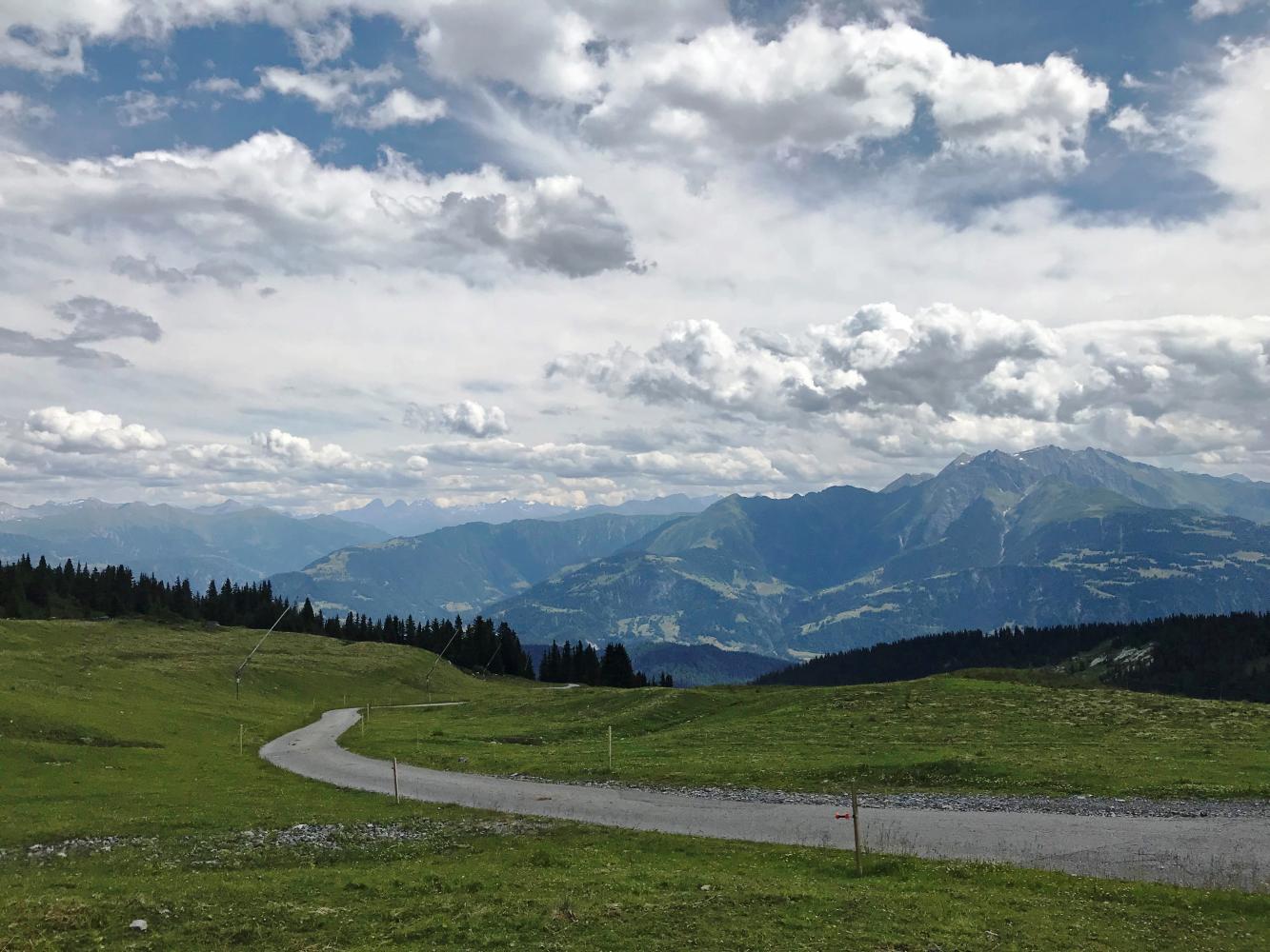 Laax to Berghaus Nagens Bike Climb - PJAMM Cycling