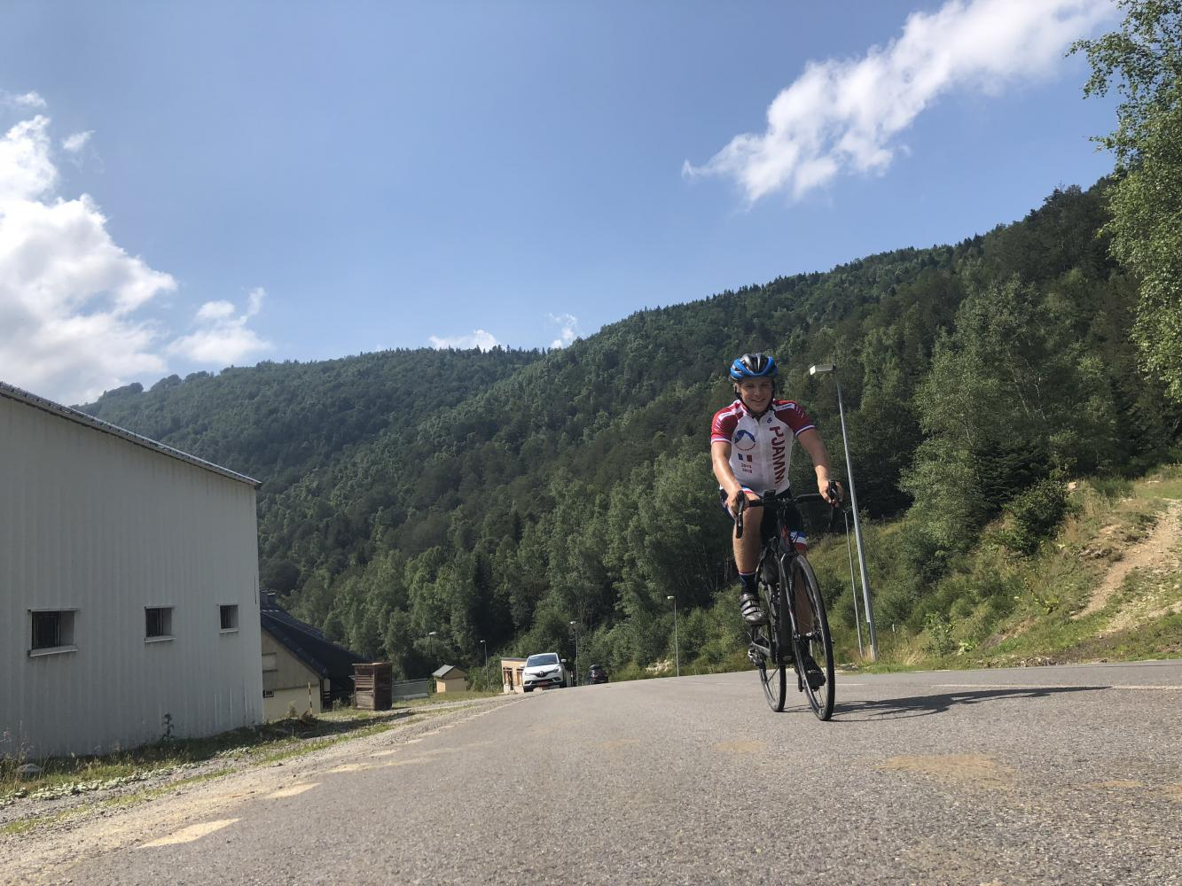 Col de Pailheres West Bike Climb - PJAMM Cycling