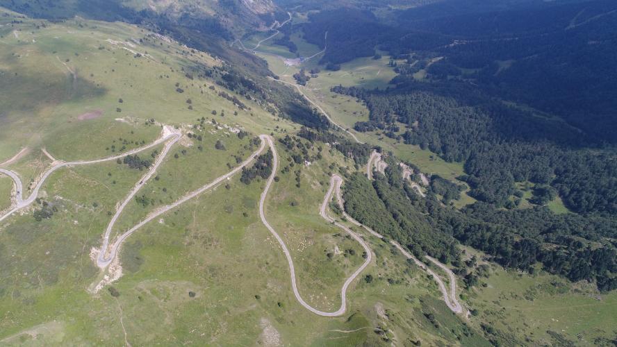 Col de Pailheres East Bike Climb - PJAMM Cycling