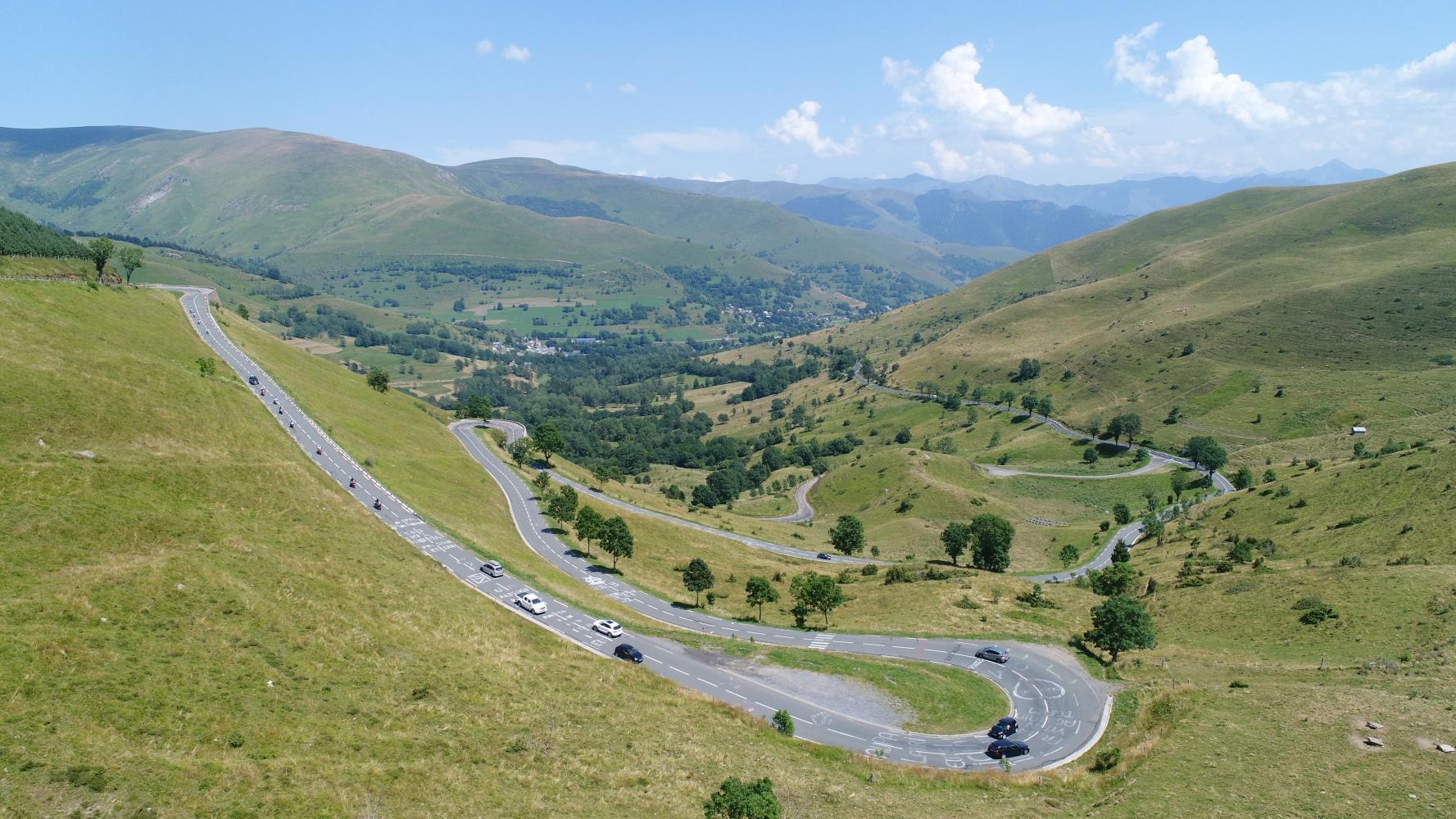 Col de Peyresourde - Bagneres-de-Luchon Bike Climb - PJAMM Cycling