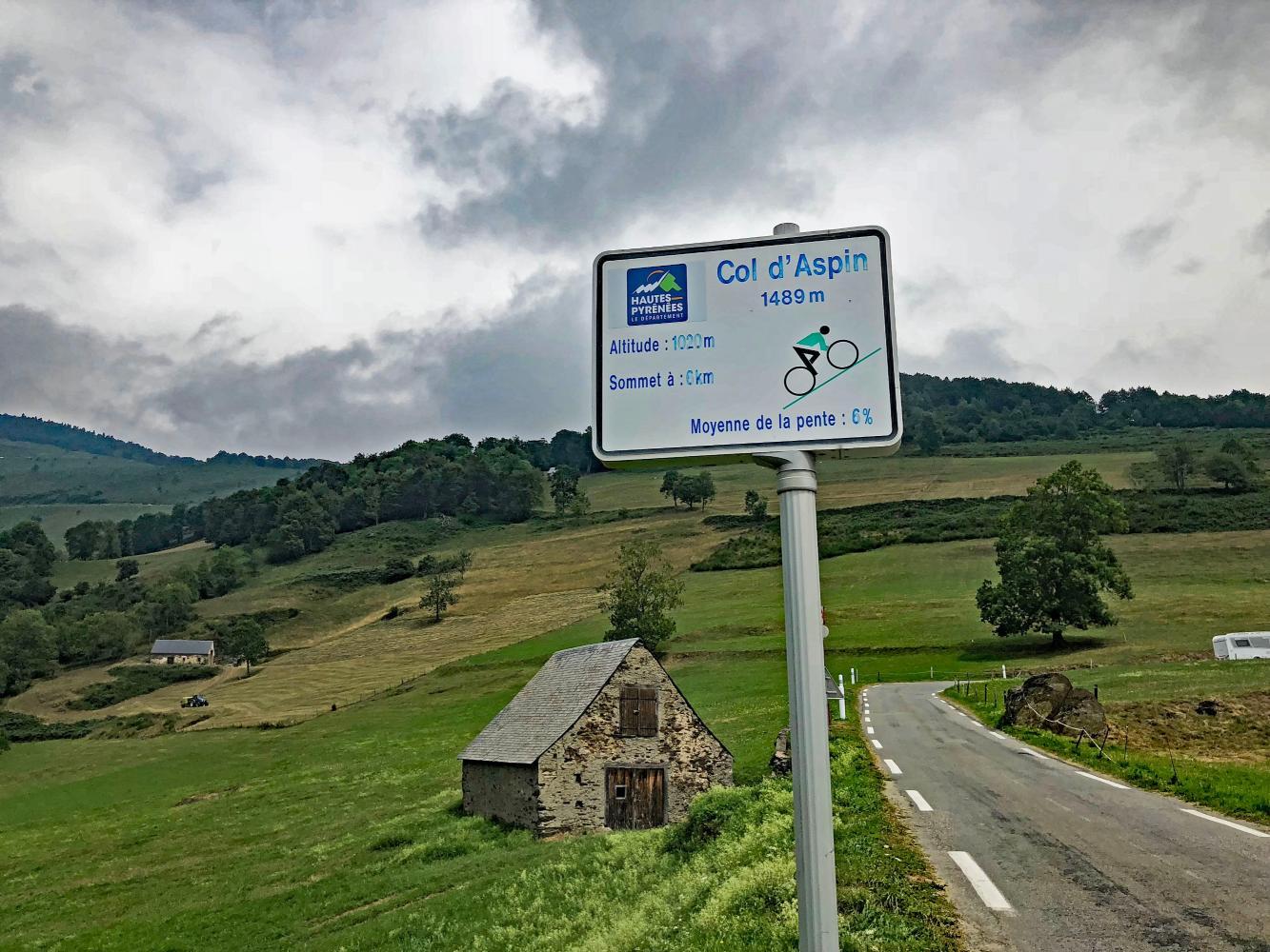 Col d'Aspin - Arreau Bike Climb - PJAMM Cycling