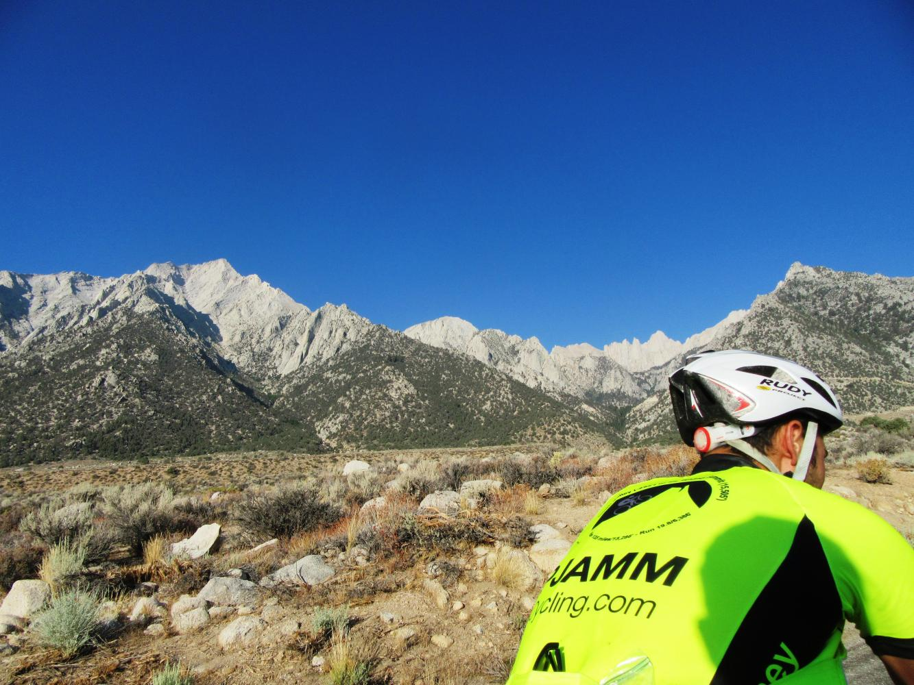 Whitney Portal Bike Climb - PJAMM Cycling