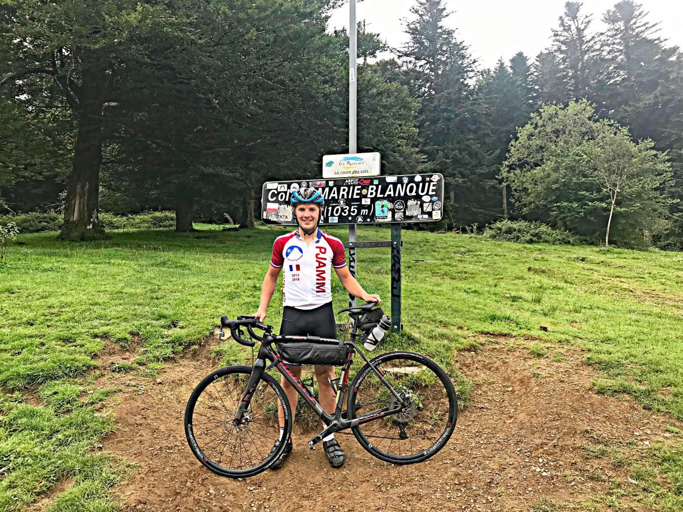 Col de Marie Blanque - Escot Bike Climb - PJAMM Cycling