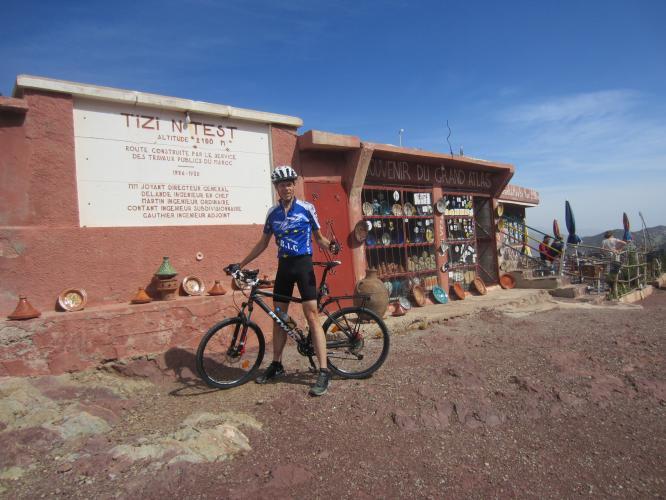 Tizi 'n Test Bike Climb - PJAMM Cycling