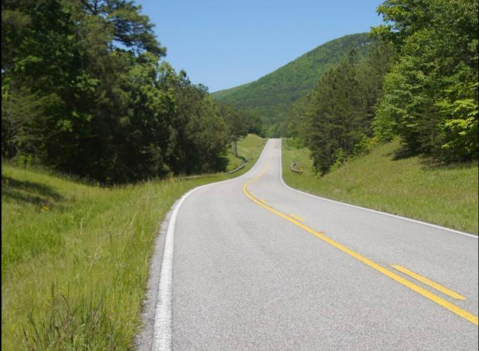 Mt. Cheaha West Bike Climb - PJAMM Cycling