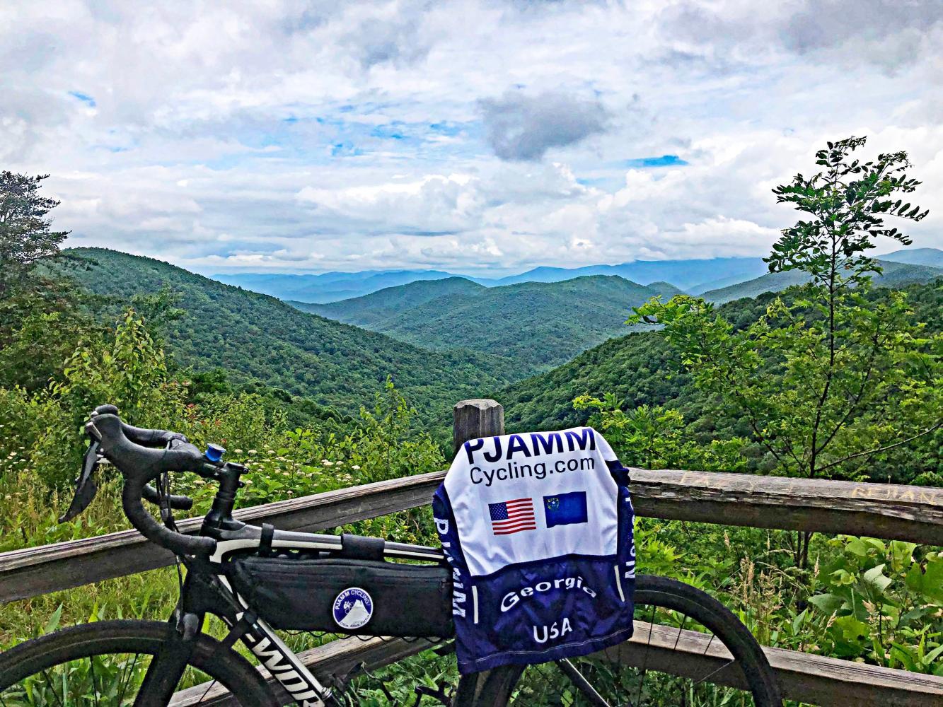 Hogpen Gap East Bike Climb - PJAMM Cycling