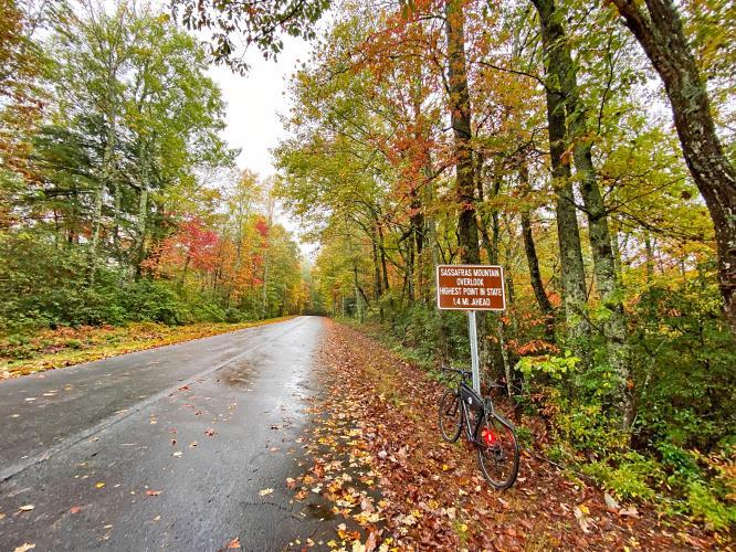 Sassafras Mountain Bike Climb - PJAMM Cycling