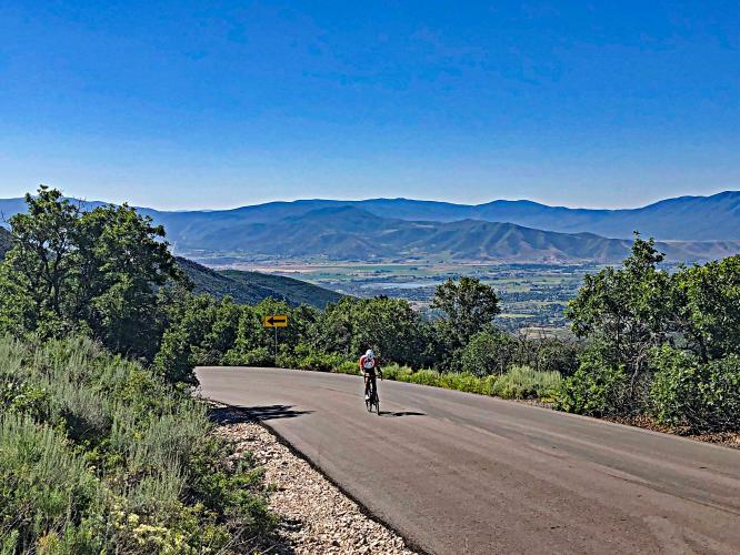 Guardsman Pass Bike Climb - PJAMM Cycling
