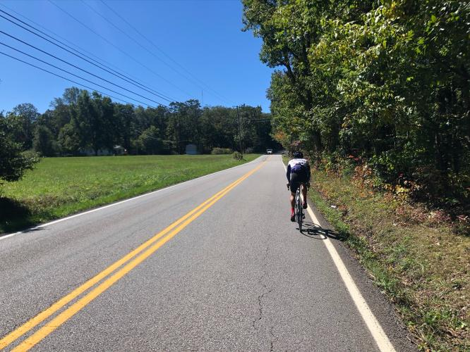 Roberts Mill Road Bike Climb - PJAMM Cycling