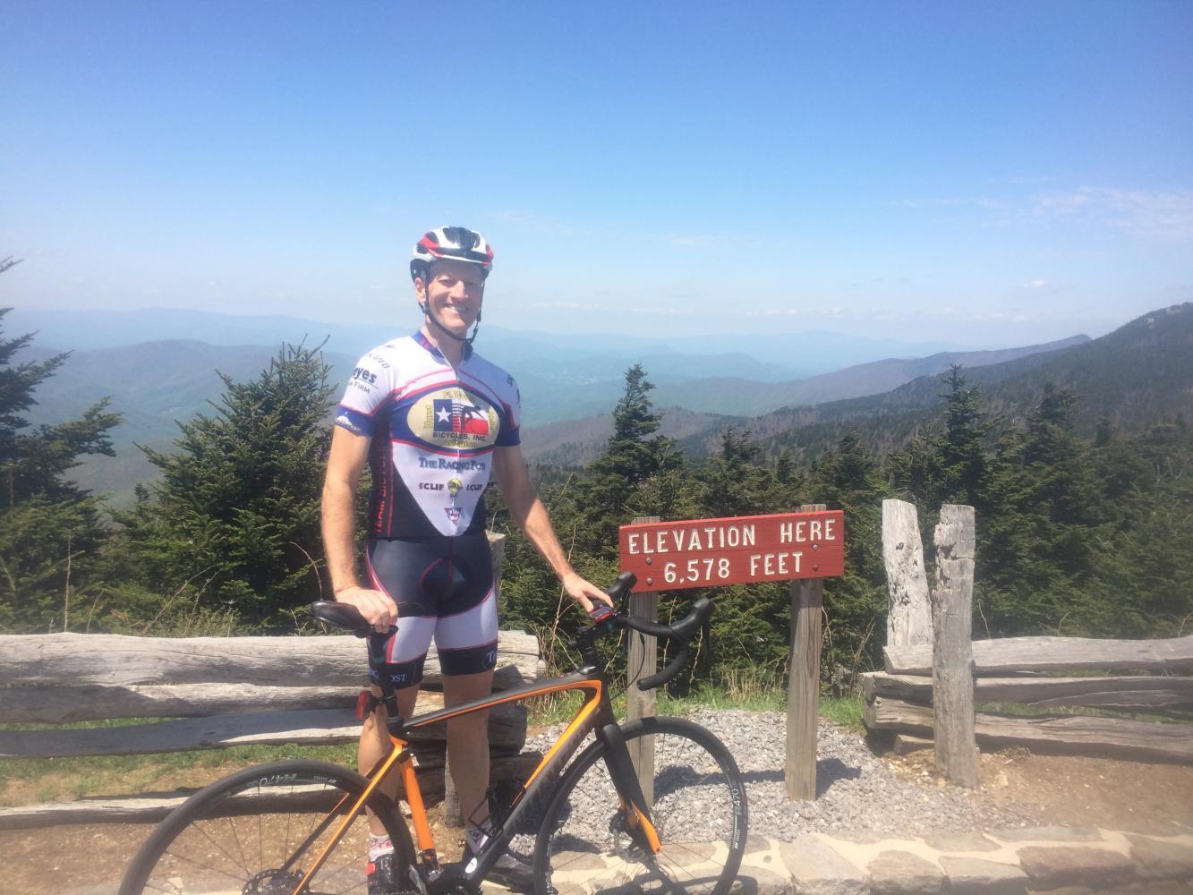 Mt. Mitchell Bike Climb - PJAMM Cycling