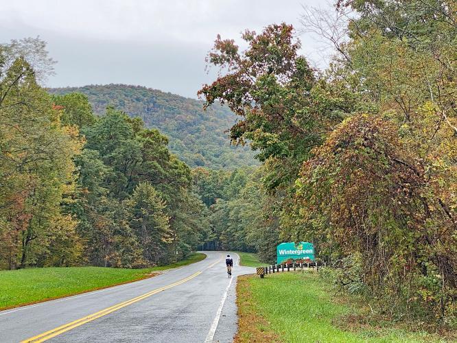 Wintergreen Drive Bike Climb - PJAMM Cycling