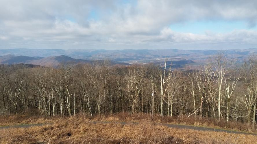 High Knob Bike Climb - PJAMM Cycling