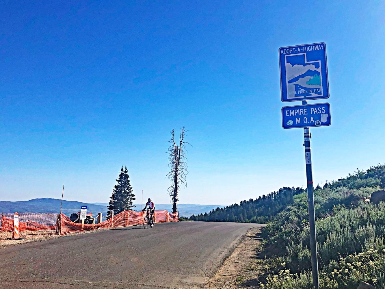 Empire Pass, Park City Bike Climb - PJAMM Cycling