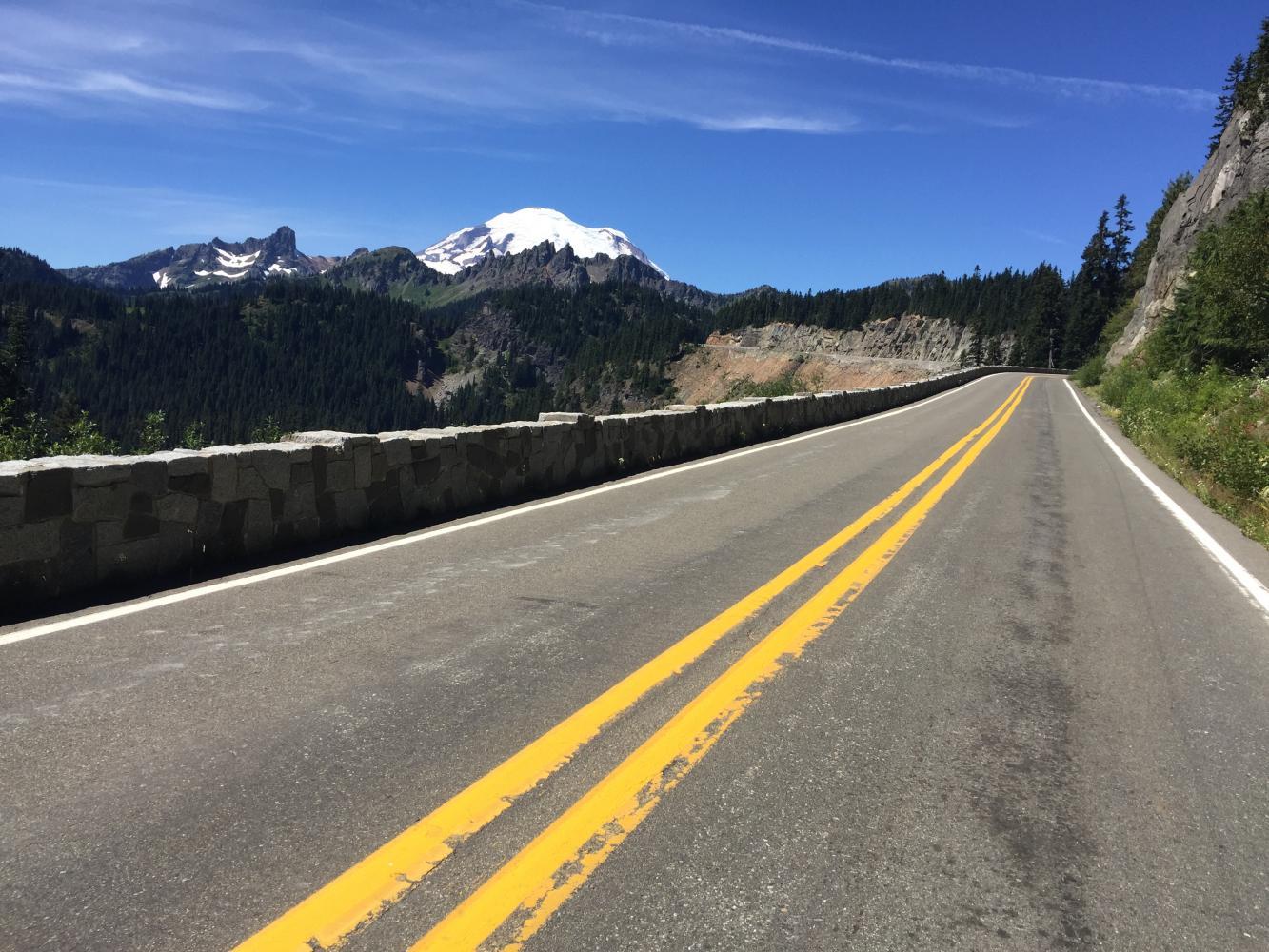 Chinook Pass Bike Climb - PJAMM Cycling