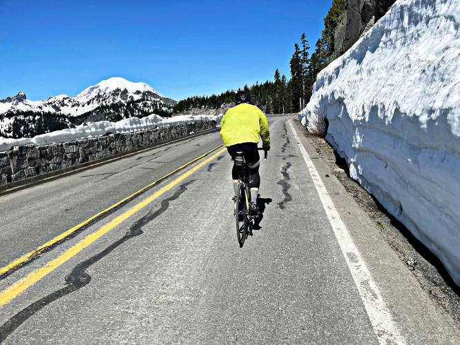 Chinook Pass South Bike Climb - PJAMM Cycling