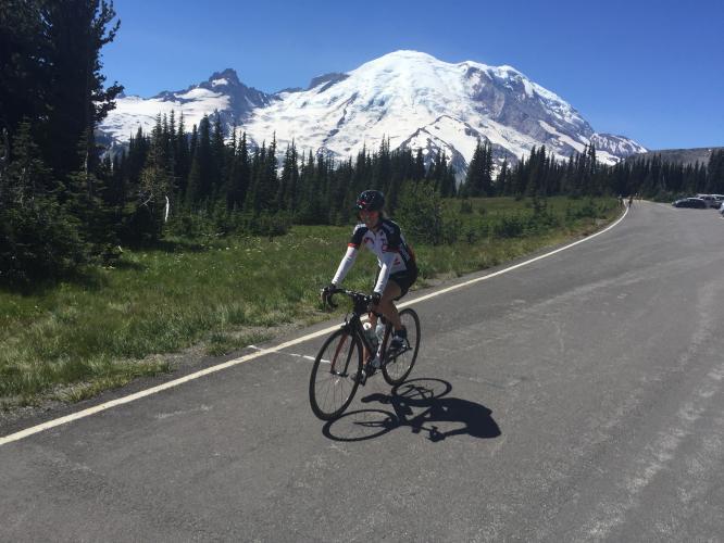 Sunrise Park Road  Bike Climb - PJAMM Cycling