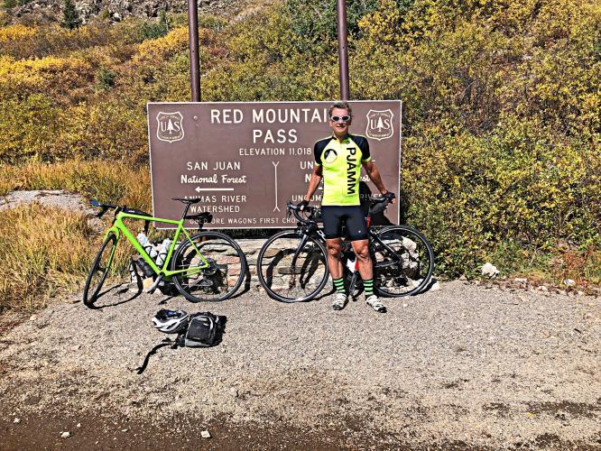 Red Mountain Pass North  Bike Climb - PJAMM Cycling