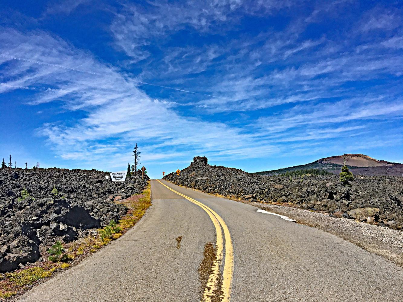 McKenzie Pass West  Bike Climb - PJAMM Cycling