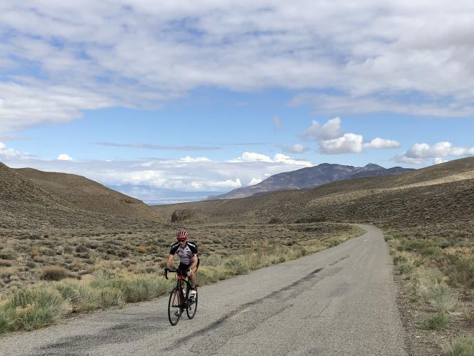 Death Valley Road (West) Bike Climb - PJAMM Cycling