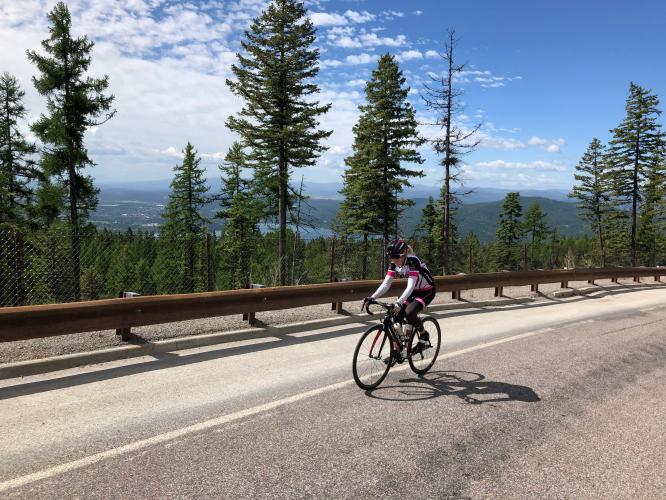 Big Mountain Rd Bike Climb - PJAMM Cycling