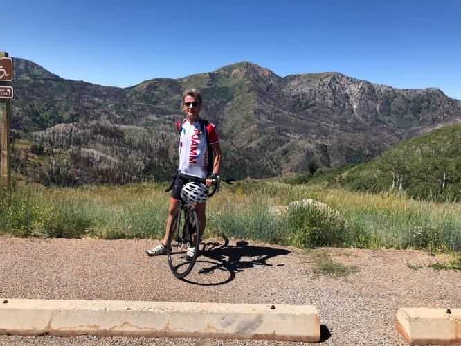 Nebo Loop Rd North Bike Climb - PJAMM Cycling