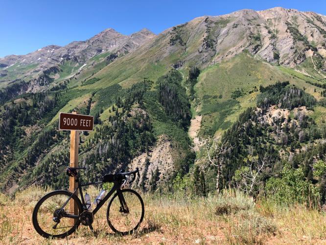 Nebo Loop Rd South Bike Climb - PJAMM Cycling