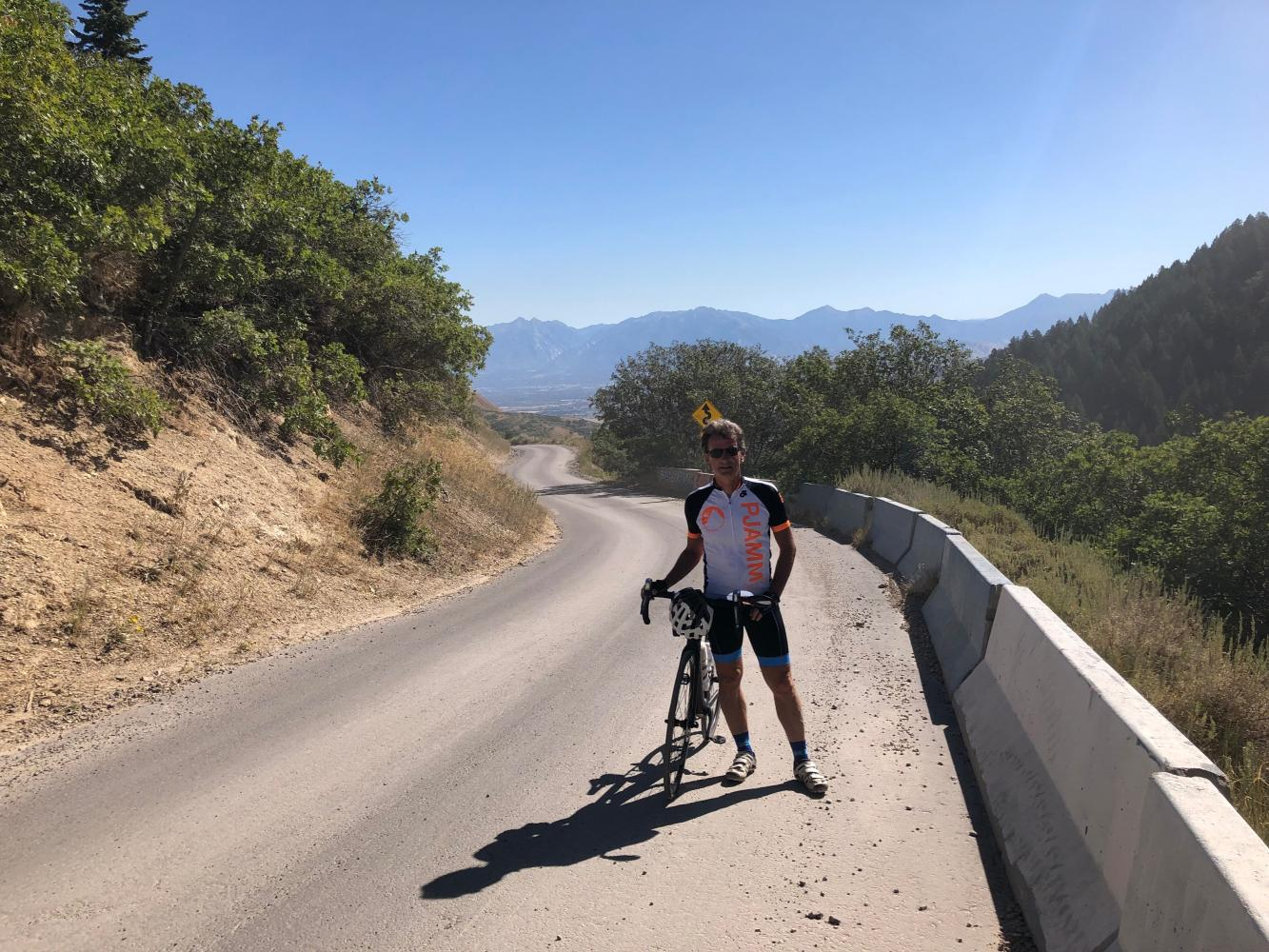 Butterfield Canyon Bike Climb - PJAMM Cycling