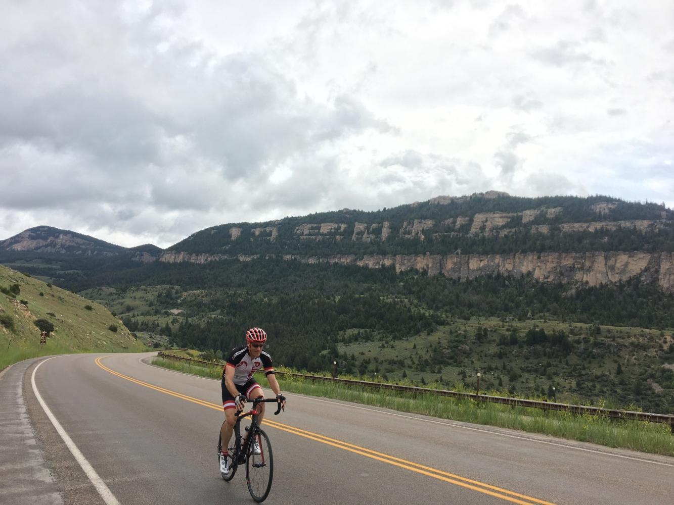 Powder River Pass West Bike Climb - PJAMM Cycling